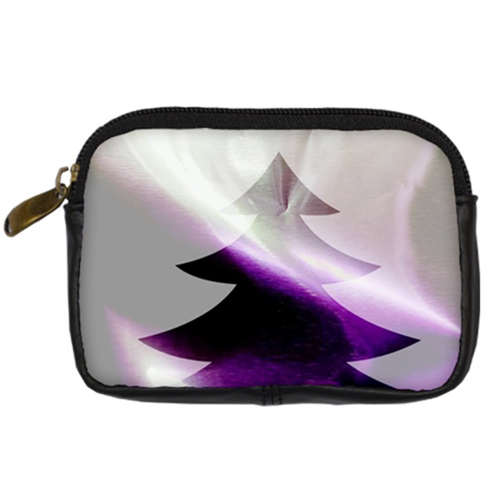Purple Christmas Tree Digital Camera Cases