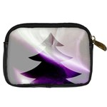 Purple Christmas Tree Digital Camera Cases Back