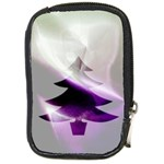 Purple Christmas Tree Compact Camera Cases Front