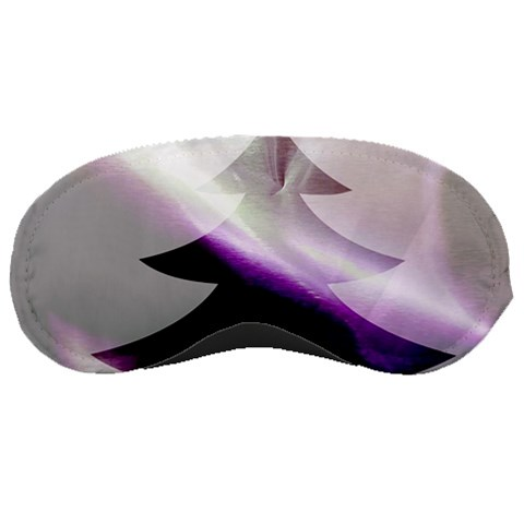 Purple Christmas Tree Sleeping Masks