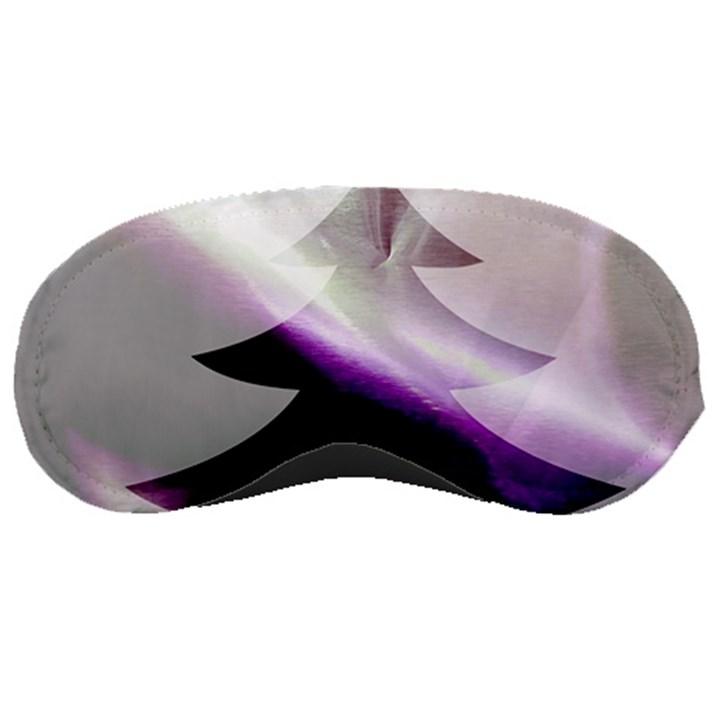 Purple Christmas Tree Sleeping Masks