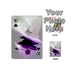 Purple Christmas Tree Playing Cards 54 (Mini)  Front - Club10