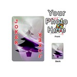 Purple Christmas Tree Playing Cards 54 (Mini)  Front - Joker2