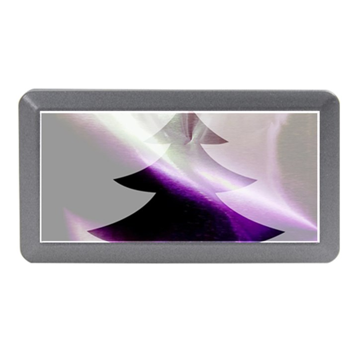 Purple Christmas Tree Memory Card Reader (Mini)
