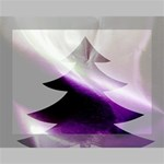 Purple Christmas Tree Deluxe Canvas 16  x 12   16  x 12  x 1.5  Stretched Canvas
