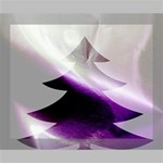 Purple Christmas Tree Deluxe Canvas 20  x 16   20  x 16  x 1.5  Stretched Canvas