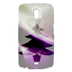 Purple Christmas Tree Samsung Galaxy Nexus i9250 Hardshell Case