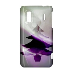 Purple Christmas Tree HTC Evo Design 4G/ Hero S Hardshell Case