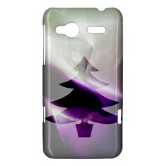 Purple Christmas Tree HTC Radar Hardshell Case