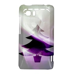 Purple Christmas Tree HTC Vivid / Raider 4G Hardshell Case