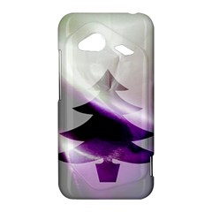 Purple Christmas Tree HTC Droid Incredible 4G LTE Hardshell Case