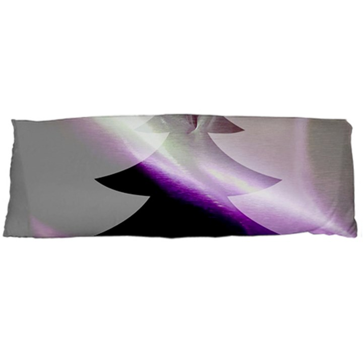 Purple Christmas Tree Body Pillow Case (Dakimakura)