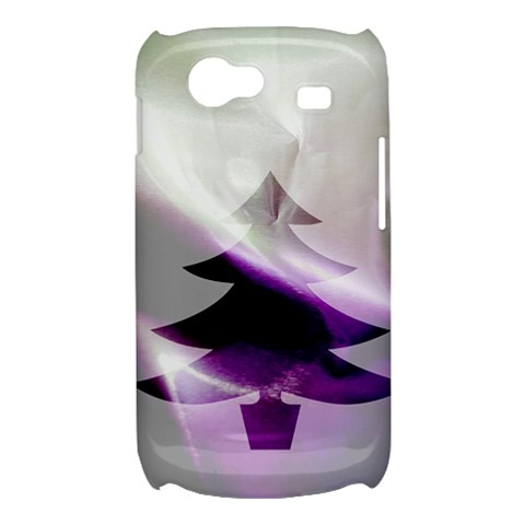 Purple Christmas Tree Samsung Galaxy Nexus S i9020 Hardshell Case