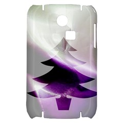 Purple Christmas Tree Samsung S3350 Hardshell Case