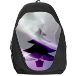 Purple Christmas Tree Backpack Bag Front