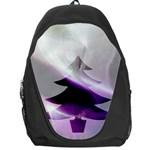 Purple Christmas Tree Backpack Bag Front