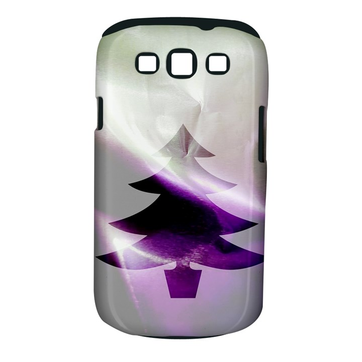 Purple Christmas Tree Samsung Galaxy S III Classic Hardshell Case (PC+Silicone)
