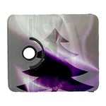 Purple Christmas Tree Samsung Galaxy S  III Flip 360 Case Front