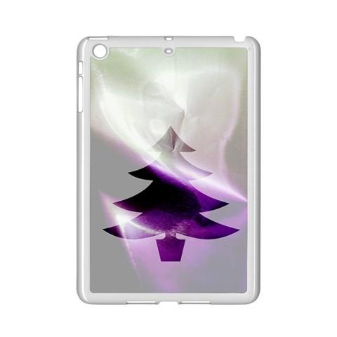 Purple Christmas Tree iPad Mini 2 Enamel Coated Cases