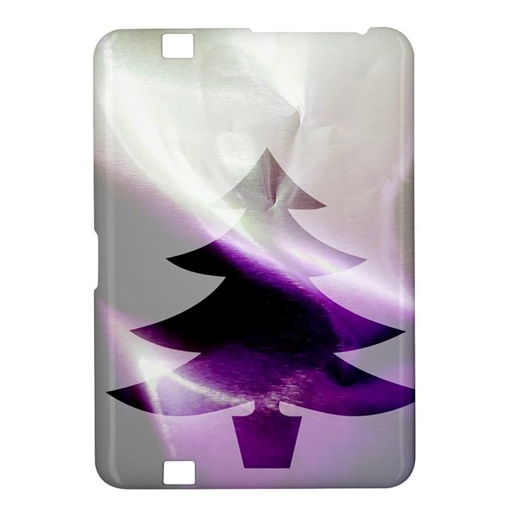 Purple Christmas Tree Kindle Fire HD 8.9