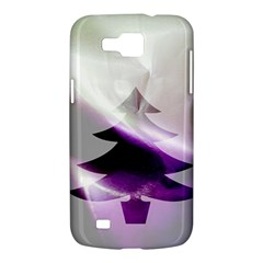 Purple Christmas Tree Samsung Galaxy Premier I9260 Hardshell Case