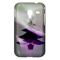 Purple Christmas Tree Samsung Galaxy Ace Plus S7500 Hardshell Case