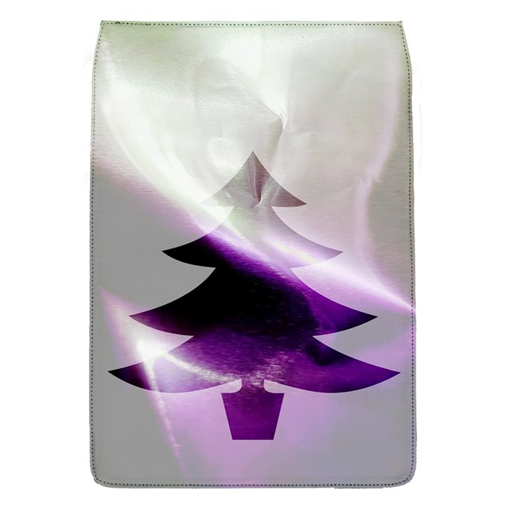 Purple Christmas Tree Flap Covers (S)