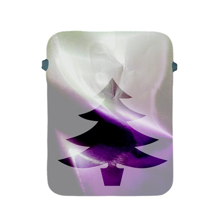 Purple Christmas Tree Apple iPad 2/3/4 Protective Soft Cases
