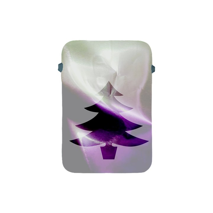 Purple Christmas Tree Apple iPad Mini Protective Soft Cases