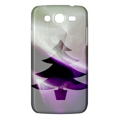 Purple Christmas Tree Samsung Galaxy Mega 5.8 I9152 Hardshell Case