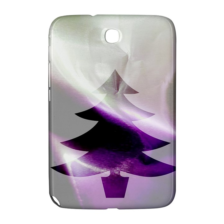 Purple Christmas Tree Samsung Galaxy Note 8.0 N5100 Hardshell Case