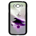 Purple Christmas Tree Samsung Galaxy Grand DUOS I9082 Case (Black) Front