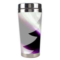 Purple Christmas Tree Stainless Steel Travel Tumblers