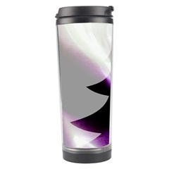 Purple Christmas Tree Travel Tumbler