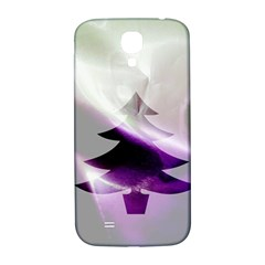 Purple Christmas Tree Samsung Galaxy S4 I9500/I9505  Hardshell Back Case