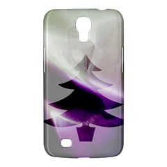Purple Christmas Tree Samsung Galaxy Mega 6.3  I9200 Hardshell Case