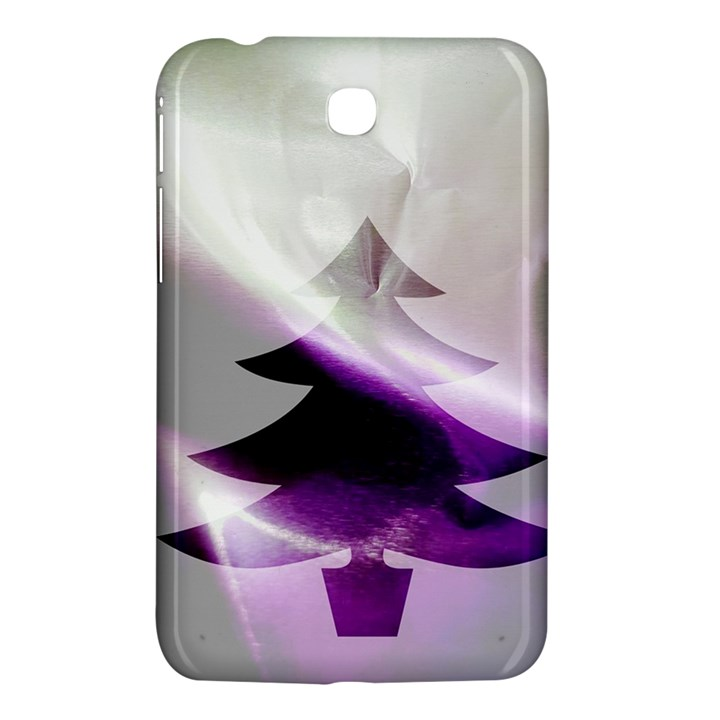 Purple Christmas Tree Samsung Galaxy Tab 3 (7 ) P3200 Hardshell Case