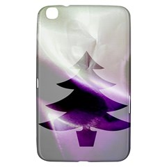 Purple Christmas Tree Samsung Galaxy Tab 3 (8 ) T3100 Hardshell Case