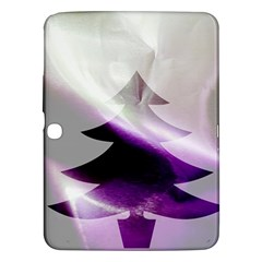 Purple Christmas Tree Samsung Galaxy Tab 3 (10.1 ) P5200 Hardshell Case