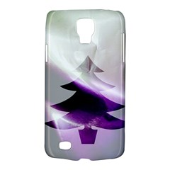Purple Christmas Tree Galaxy S4 Active