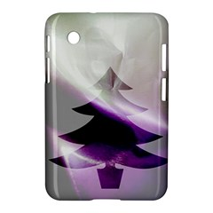 Purple Christmas Tree Samsung Galaxy Tab 2 (7 ) P3100 Hardshell Case