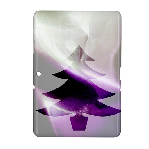 Purple Christmas Tree Samsung Galaxy Tab 2 (10.1 ) P5100 Hardshell Case