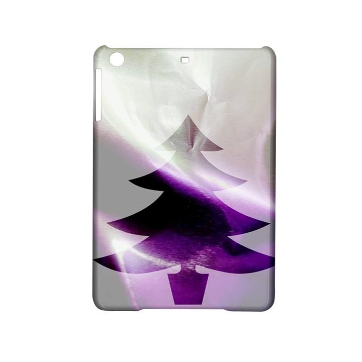 Purple Christmas Tree iPad Mini 2 Hardshell Cases