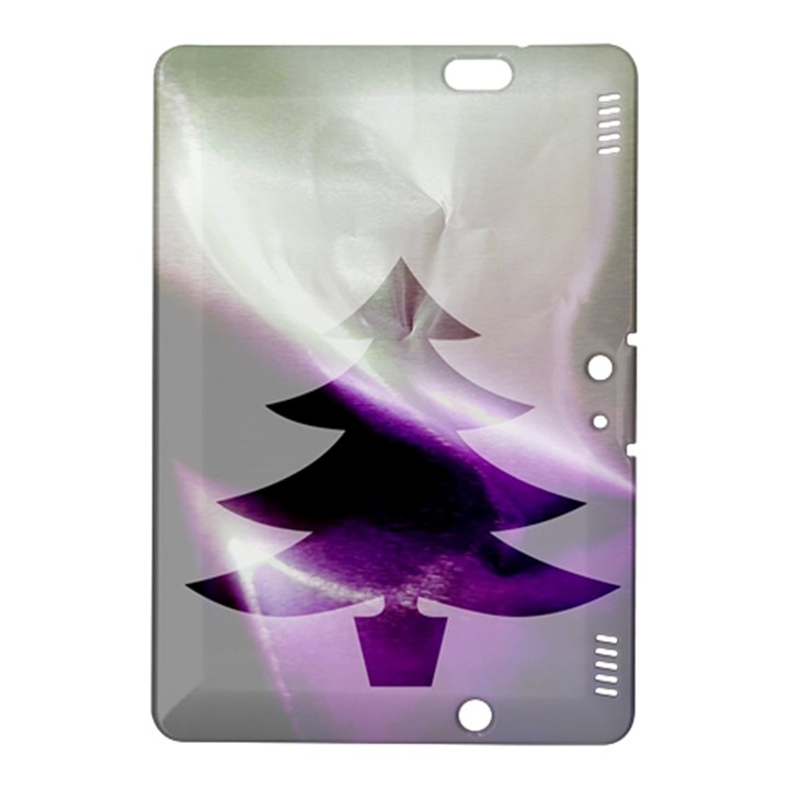 Purple Christmas Tree Kindle Fire HDX 8.9  Hardshell Case