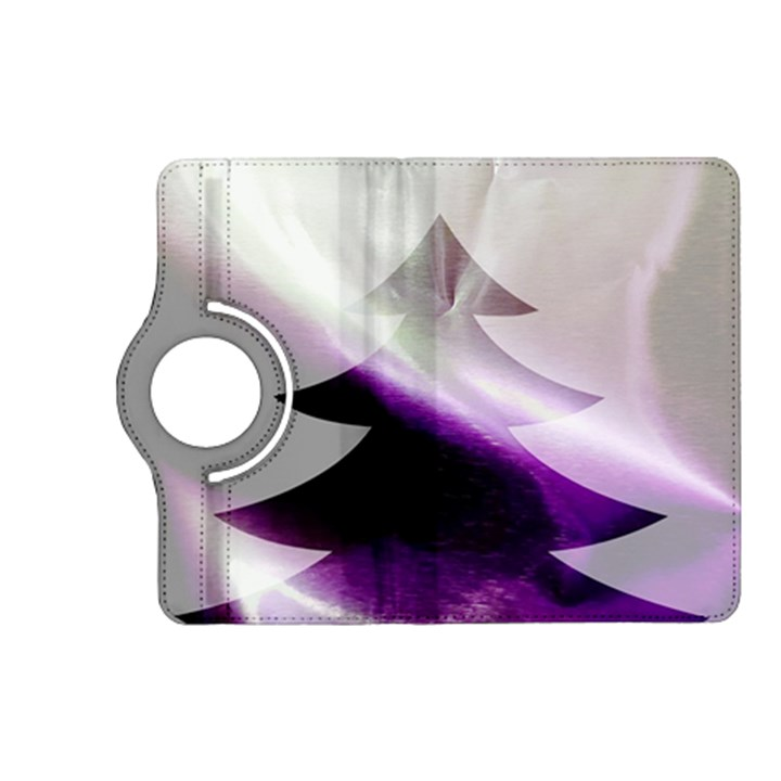 Purple Christmas Tree Kindle Fire HD (2013) Flip 360 Case