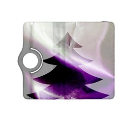 Purple Christmas Tree Kindle Fire HDX 8.9  Flip 360 Case