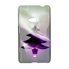 Purple Christmas Tree Nokia Lumia 625