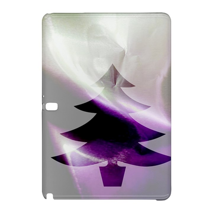 Purple Christmas Tree Samsung Galaxy Tab Pro 10.1 Hardshell Case