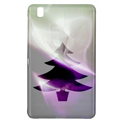 Purple Christmas Tree Samsung Galaxy Tab Pro 8 4 Hardshell Case