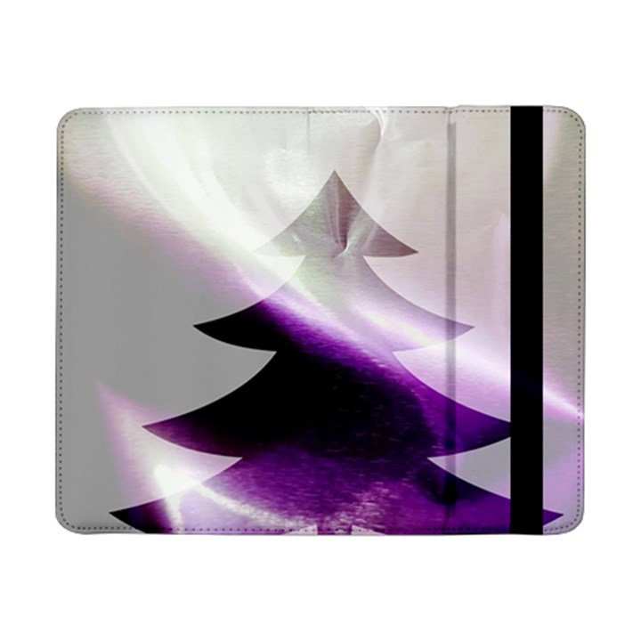 Purple Christmas Tree Samsung Galaxy Tab Pro 8.4  Flip Case